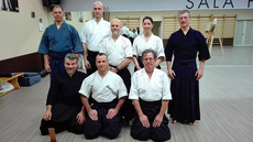 Kyudo group in Cagliari, Sardinia Is, Italy
